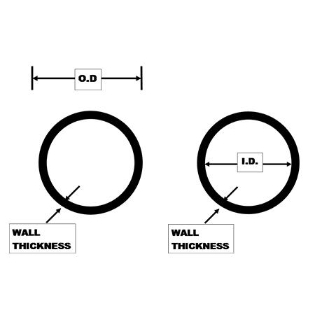 Pipe-round-tubing